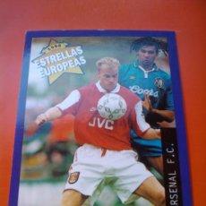 Cromos de Fútbol: 59 - BERGKAMP (ARSENAL) ESTRELLAS EUROPEAS 1996 PANINI CROMOS 96 - . Lote 30450832