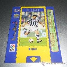 Cromos de Fútbol: MAGIC CARD 576 NIHAT EL CRACK REAL SOCIEDAD CROMOS ALBUM MUNDICROMO LIGA FUTBOL 2004-2005 04-05. Lote 30571910