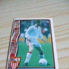 Cromos de Fútbol: 241 RYTTER SEVILLA ULTIMA HORA II MUNDICROMO FICHAS DE LA LIGA 1996-1997 96-97. Lote 295809298