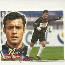 Cromos de Fútbol: EDICIONES ESTE 2000-2001 NUNO (OSASUNA) COLOCA LIGA 00-01 CROMOS . Lote 33544339