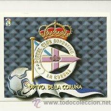Cromos de Fútbol: EDICIONES ESTE 2000-2001 ESCUDO (DEPORTIVO LA CORUÑA) LIGA 00-01 CROMOS . Lote 30730474