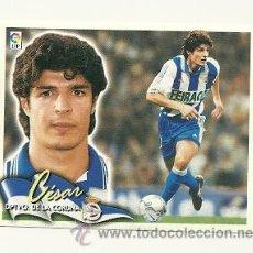 Cromos de Fútbol: EDICIONES ESTE 2000-2001 CESAR (DEPORTIVO LA CORUÑA) LIGA 00-01 CROMOS . Lote 30730504