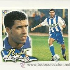 Cromos de Fútbol: EDICIONES ESTE 2000-2001 NAYBET (DEPORTIVO LA CORUÑA) LIGA 00-01 CROMOS . Lote 30730536