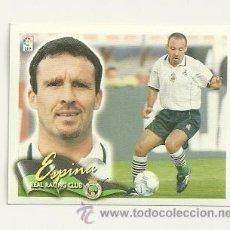 Cromos de Fútbol: EDICIONES ESTE 2000-2001 ESPINA (RACING SANTANDER) LIGA 00-01 CROMOS . Lote 30732278