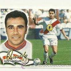Cromos de Fútbol: EDICIONES ESTE 2000-2001 QUEVEDO (RAYO VALLECANO) LIGA 00-01 CROMOS . Lote 30732506