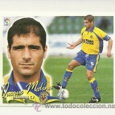 Cromos de Fútbol: EDICIONES ESTE 2000-2001 QUIQUE MEDINA (VILLARREAL) LIGA 00-01 CROMOS . Lote 30740396