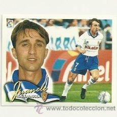 Cromos de Fútbol: EDICIONES ESTE 2000-2001 JUANELE (ZARAGOZA) LIGA 00-01 CROMOS . Lote 46489736