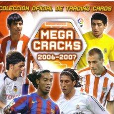 Cromos de Fútbol: LOTE DE 466 CROMOS CARDS DISTINTOS MEGACRACKS 2006 - 2007. Lote 33077005