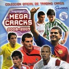 Cromos de Fútbol: LOTE DE 262 CROMOS CARDS DISTINTOS MEGACRACKS 2008 2009. Lote 30921833