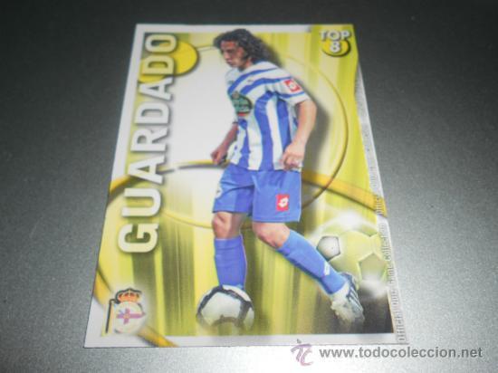 608 GUARDADO TOP MATE DEPORTIVO CORUÑA CROMOS MUNDICROMO QUIZ GAME 2010 2011 10 11 (Coleccionismo Deportivo - Álbumes y Cromos de Deportes - Cromos de Fútbol)