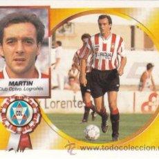 Cromos de Fútbol: ESTE 94 95 MARTIN BAJA DIFICIL EN EL LOGROÑES. NUEVO SIN PEGAR. ESTE 1994 1995. Lote 31003693