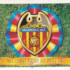 Cromos de Fútbol: ESTE 94 95 ESCUDO DEL VALENCIA. NUEVO SIN PEGAR. ESTE 1994 1995. Lote 31003839