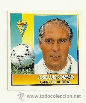 EDICIONES ESTE 1992-1993 JOSE LUIS ROMERO (CADIZ) COLOCA LIGA 92-93 CROMOS (Coleccionismo Deportivo - Álbumes y Cromos de Deportes - Cromos de Fútbol)