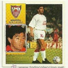 Cromos de Fútbol: EDICIONES ESTE 1992-1993 MARADONA (SEVILLA) COLOCA LIGA 92-93 CROMOS . Lote 31160895