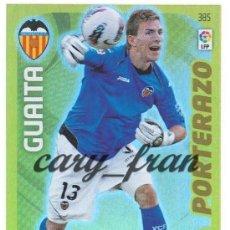 Cromos de Fútbol: ADRENALYN 2011 2012 11 12 VALENCIA GUAITA PORTERAZO . Lote 30190488