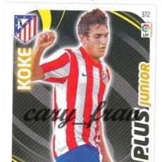 Cromos de Fútbol: ADRENALYN 2011 2012 11 12 ATLETICO MADRID KOKE PLUS JUNIOR . Lote 31300591