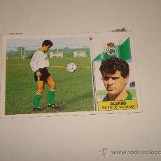 Cromos de Fútbol: CROMO ALVARO RACING DE SANTANDER ALBUM EDICIONES ESTE 1986 -1987 86-87 .. Lote 31306536