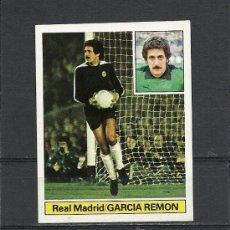 Cromos de Fútbol: EDICIONES ESTE. LIGA 81-82. NUEVO. GARCIA REMON -REAL MADRID.. Lote 31361299