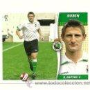 Cromos de Fútbol: EDICIONES ESTE 2006-2007 RUBEN (RACING SANTANDER) COLOCA LIGA 06-07 CROMOS . Lote 160859178