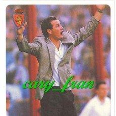 Cromos de Fútbol: MUNDICROMO 1995 1996 95 96 ZARAGOZA VICTOR FERNANDEZ . Lote 31513689