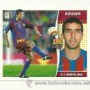 Cromos de Fútbol: EDICIONES ESTE 2006-2007 OLEGUER (BARCELONA) LIGA 06-07 CROMOS . Lote 160859272
