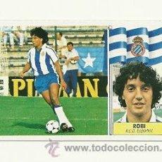 Cromos de Fútbol: EDICIONES ESTE 1986-1987 - ROBI (ESPAÑOL) COLOCA LIGA 86-87 CROMOS . Lote 31661220