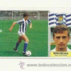Cromos de Fútbol: EDICIONES ESTE 1986-1987 - BENGOECHEA (REAL SOCIEDAD) COLOCA LIGA 86-87 CROMOS. Lote 31661416