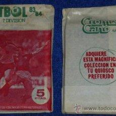 Cromos de Fútbol: FUTBOL 83 84 - CROMOS CANO. Lote 31714419