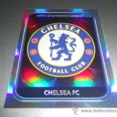 Cromos de Futebol: 345 ESCUDO CHELSEA CROMOS ALBUM LIGA CAMPEONES CHAMPIONS LEAGUE 2010 2011 10 11 PANINI. Lote 31755370