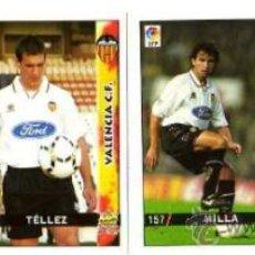 Cromos de Fútbol: 4 CROMOS. LIGA 98-99. VALENCIA C.F.. Lote 32103609