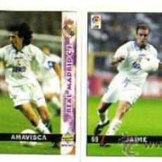 Cromos de Fútbol: 4 CROMOS. LIGA 98-99. REAL MADRID C.F.. Lote 32103613