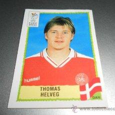 Cromos de Fútbol: 326 THOMAS HELVEG DINAMARCA CROMOS EURO 2000 EURO2000 EUROCOPA HOLANDA BELGICA PANINI . Lote 32287630