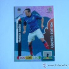 Cromos de Fútbol: CROMO ADRENALYN XL EURO 2012 FRANCK RIBERY LIMITED EDITION. Lote 32369057