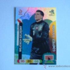 Cromos de Fútbol: CROMO ADRENALYN XL EURO 2012 WOJCIECH SZCZESNY LIMITED EDITION. Lote 32369119