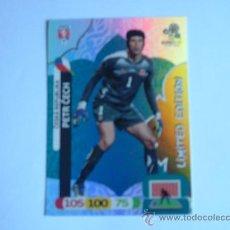Cromos de Fútbol: CROMO ADRENALYN XL EURO 2012 PETR CECH LIMITED EDITION. Lote 32369134