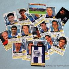 Cromos de Fútbol: MUNDICROMO - LIGA 1999 - 2000 - 23 CROMOS DEL EQUIPO DEPORTIVO ALAVÉS. Lote 32423515