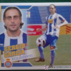 Cromos de Fútbol: EDICIONES ESTE 10-11 2010 2011 SERGIO GARCIA UF 50 ESPAÑOL ESPANYOL NUNCA PEGADO. Lote 94730254