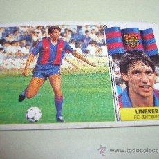Cromos de Fútbol: FICHAJE 20 LINEKER 86/87. DESPEGADO DE ALBUM.. Lote 32543387