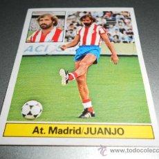 Cromos de Fútbol: CROMO FICHAJE 20 JUANJO AT. MADRID CROMOS ALBUM EDICIONES ESTE LIGA FUTBOL 1981 1982 81 82. Lote 32732914