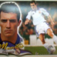 Cromos de Fútbol: ED. ESTE - MUNITIS (REAL MADRID) COLOCA 00/01. SIN PUBLICIDAD.. Lote 32817361