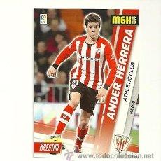 Cromos de Fútbol: 14 ANDER HERRERA (ATHLETIC BILBAO) - MEGACRACKS 2012-2013 PANINI MGK 12-13 - CROMOS. Lote 176860557