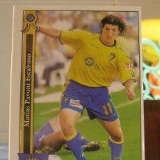 Cromos de Fútbol: MUNDICROMO FICHAS DE LA LIGA 2005-2006 05 06 PAVONI (CÁDIZ). Lote 32842744