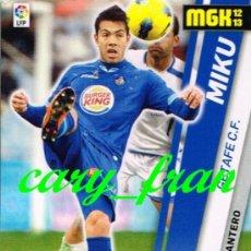 Cromos de Fútbol: MEGACRACKS 2012 2013 12 13 GETAFE MIKU . Lote 33118680