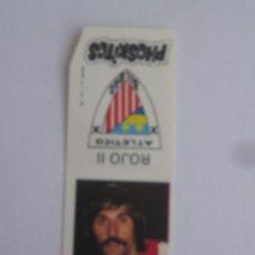 Cromos de Fútbol: 1 CROMO PHOSKITOS LIGA FUTBOL TEMPORADA 1976 ATHLETIC DE BILBAO ROJO II. Lote 32962561