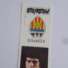 Cromos de Fútbol: 1 CROMO PHOSKITOS LIGA FUTBOL TEMPORADA 1976 VALENCIA CLUB DE FUTBOL KEMPES. Lote 34411387