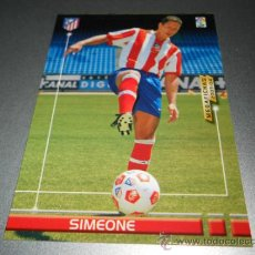 Fußball-Sticker - FICHAJE 443 SIMEONE AT. MADRID CROMOS MEGAFICHAS MEGACRACKS LIGA FUTBOL 2003 2004 03 04 - 32985153