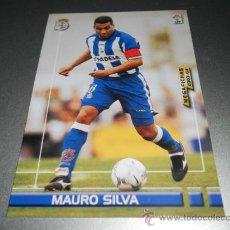 Cromos de Fútbol: 118 MAURO SILVA DEPORTIVO CORUÑA CROMOS MEGAFICHAS MEGACRACKS LIGA FUTBOL 2003 2004 03 04 . Lote 33030598