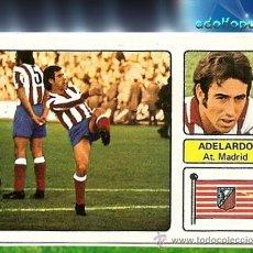 Cromos de Fútbol: FHER 73 74 AT.MADRID ADELARDO. Lote 33069686