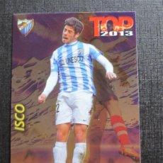 Cromos de Fútbol: MUNDICROMO 2012 2013 QUIZ GAME 12 13 - TOP 7 - ISCO - Nº 0596 - FONDO BRILLO LISO MORADO. Lote 33104541