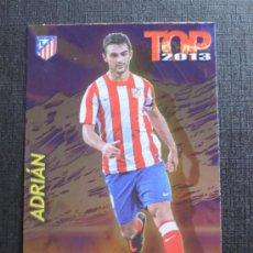 Cromos de Fútbol: MUNDICROMO 2012 2013 QUIZ GAME 12 13 - TOP 7 - ADRIÁN - Nº 0597 - FONDO BRILLO LISO MORADO. Lote 33104550